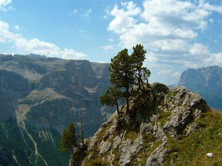 Al rifugio Puez dalla Vallunga: uno spettacolo tra Val Gardena e Val Badia